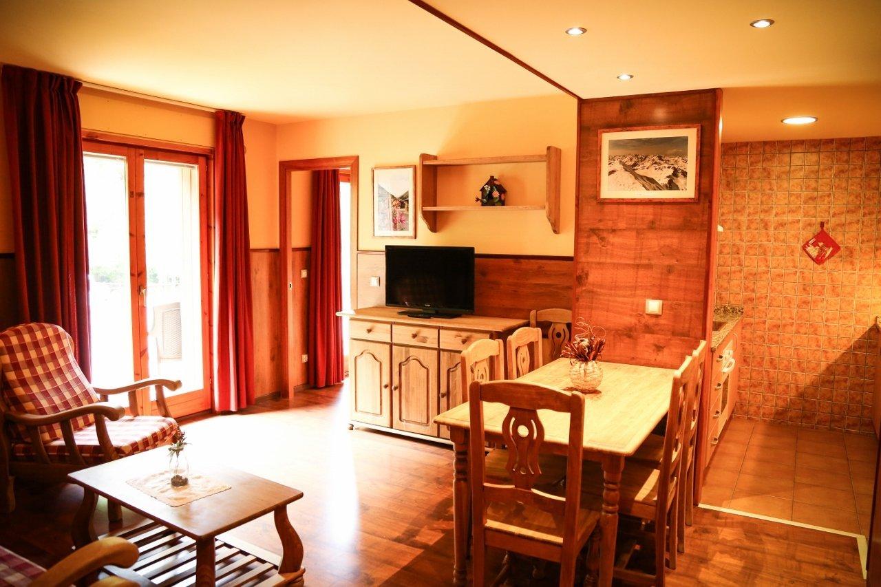 Apartamento FAMILIAR rústico de 70m2