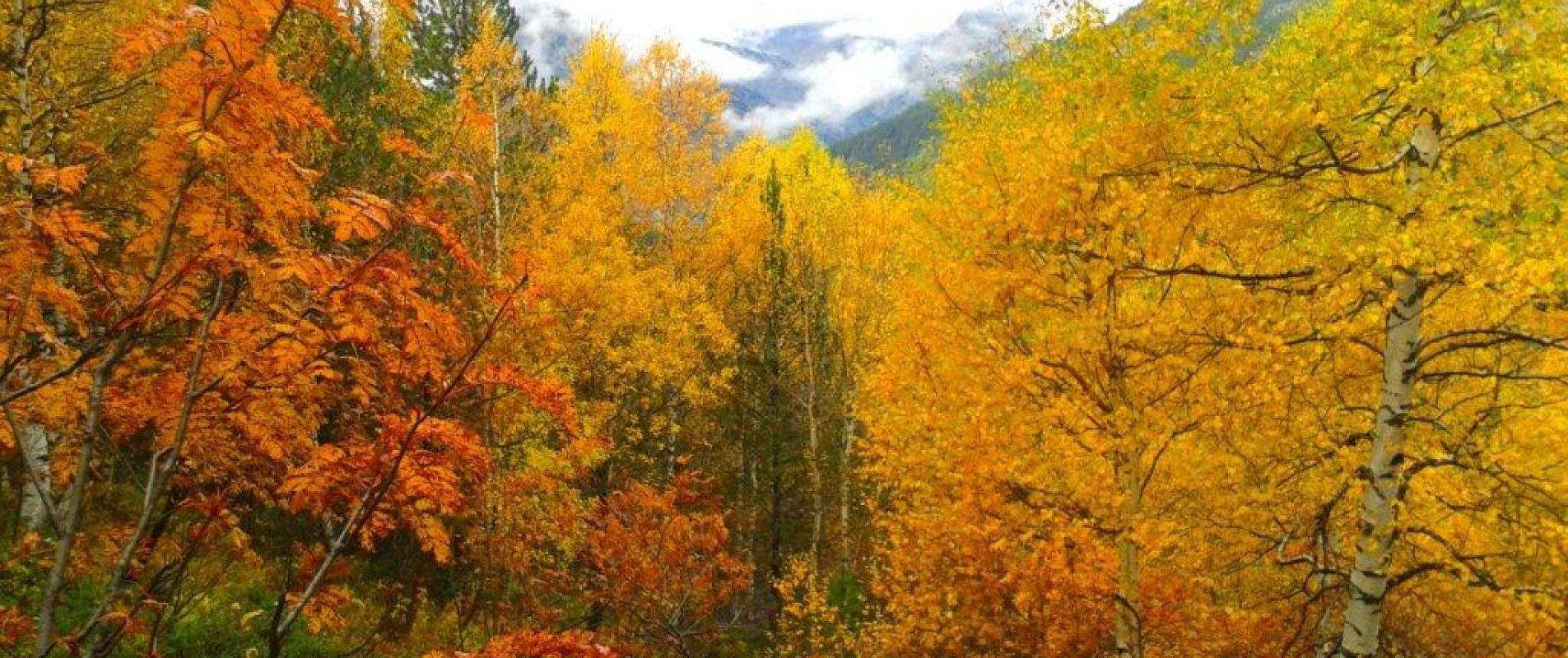 El otoño en Andorra