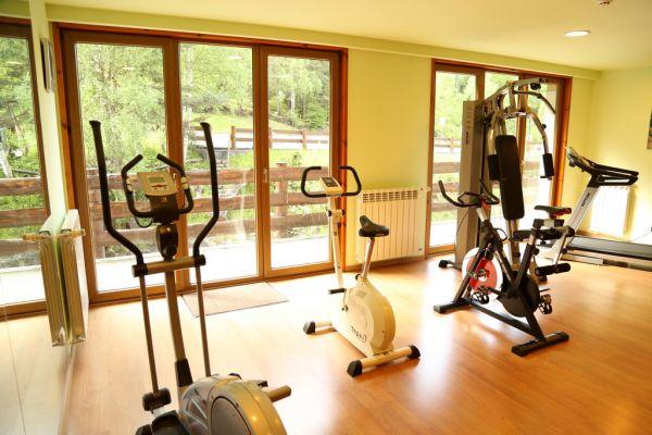 Free gym in La Neu