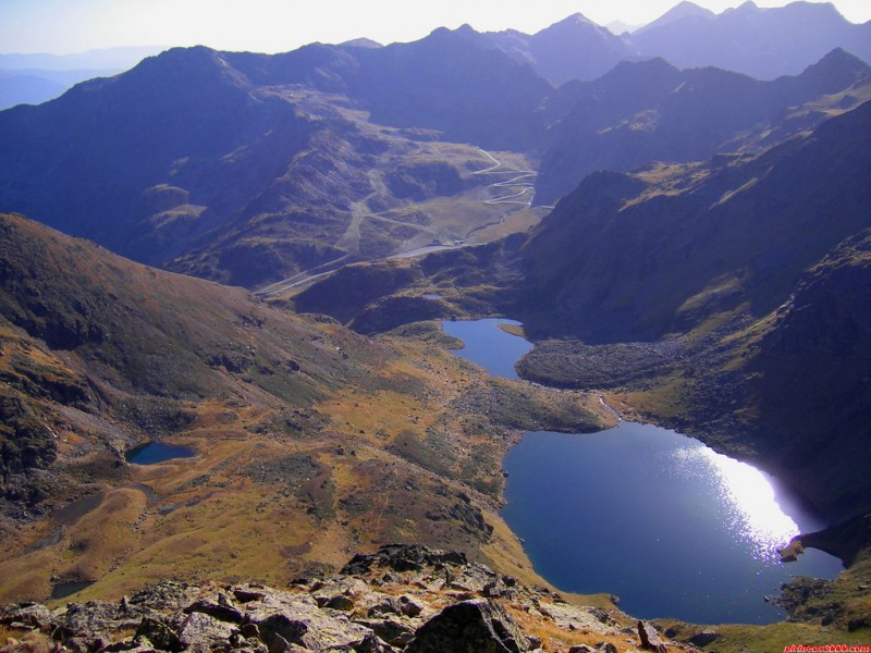 Tristaina lakes