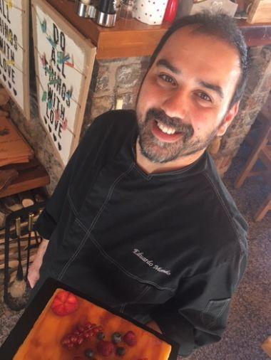 Notre chef...Eduardo Mondo